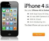 Iphone 4s lanceres i Dubai, men med et dyrt tag.