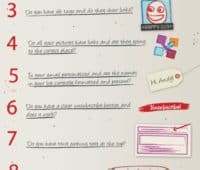 E-mail-marketing checkliste for vellykket levering [Infographics]