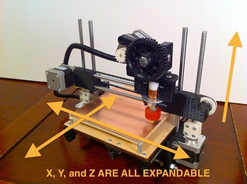 3D printer iz printbota