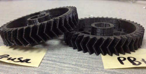 3d printing sample from printbot