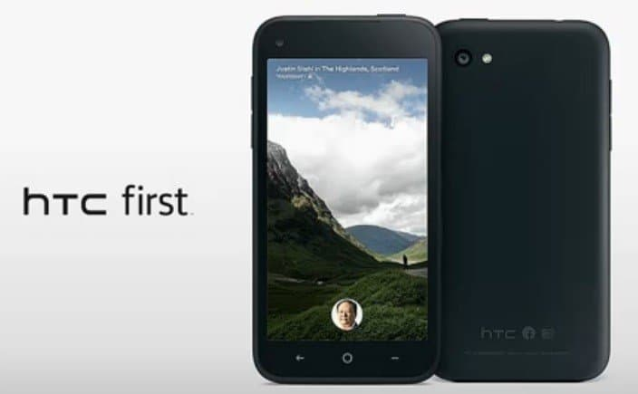 Facebook Android phone HTC First Unveiled with Facebook Home !