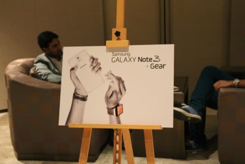 Samsung Galaxy Note 3 og Galaxy Gear Sneak Peak. [Billedgalleri]