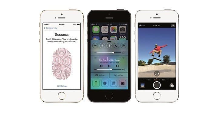 Apple anuncia o iPhone 5s - o smartphone mais inovador do mundo