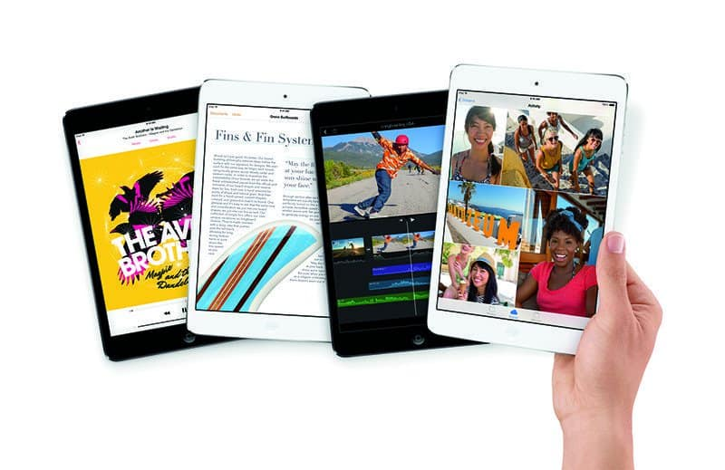Apple kondigt iPad Air en iPad mini met retina-display aan.