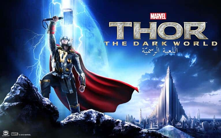 Gameloft en Marvel Today lanceren Thor: The Dark World - The Official Game voor iOS, Android
