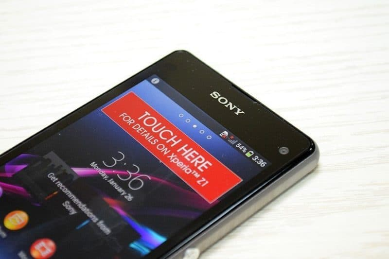 Sony Xperia Z1 Compact Unboxing. [Galeri Foto]
