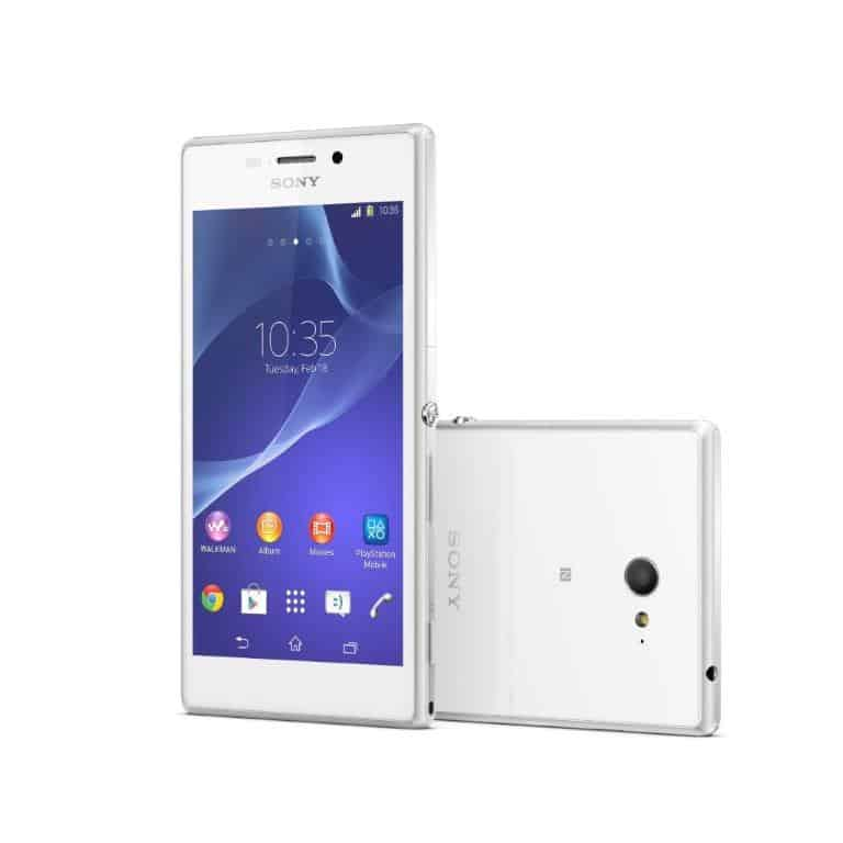 SonyMobile_XperiaM2_White_HR