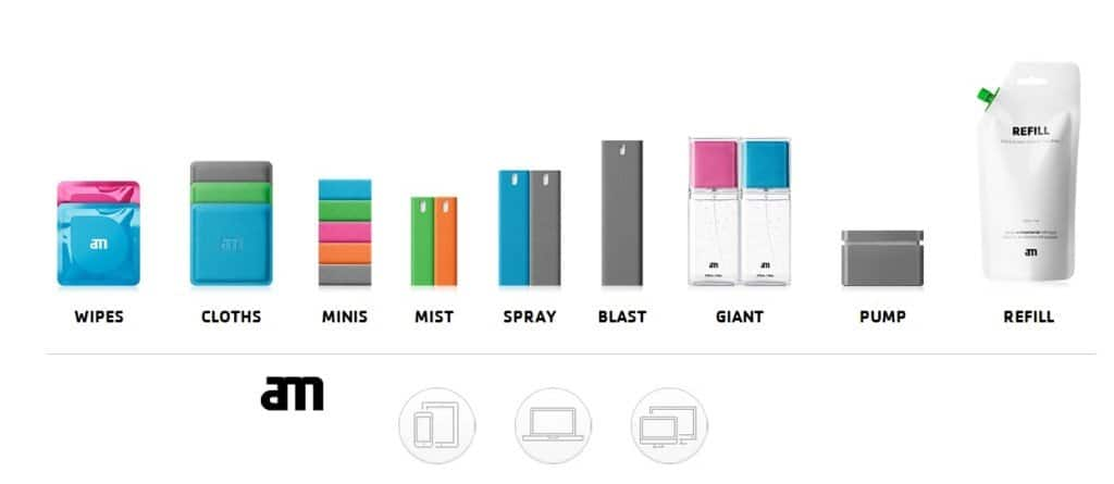 AM: cleaning your favorite gadgets screen in a professional way.
