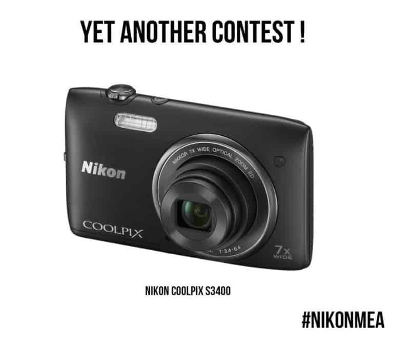 AED 3400 တန်ဖိုးရှိ Win NIKON Coolpix S499 [International Giveaway] #NIKONMEA