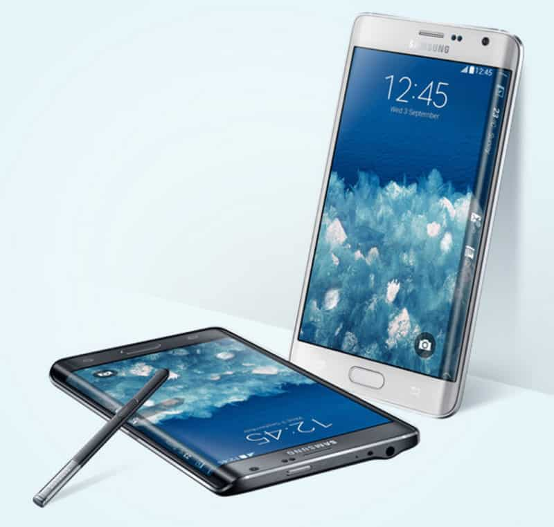 Samsung stellt Galaxy Note 4, Note Edge in Dubai vor