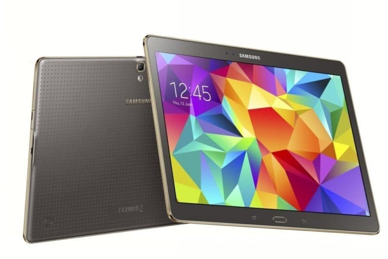 Análise do tablet Galaxy Tab S 10.5