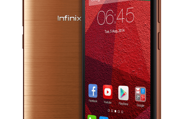 Infinix HotNote X551_Copper Brown_Front_2