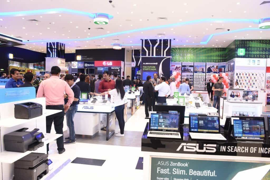 Jacky's Electronics opens its newly refurbished outlet in