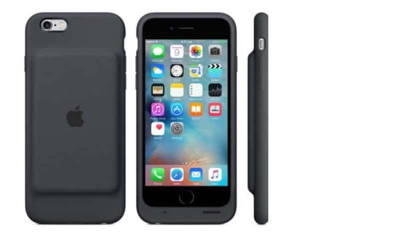 Apple iPhones har nu en officiel smart batterikasse