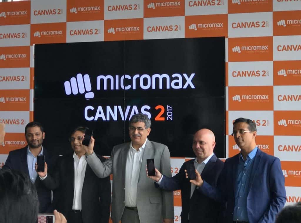 Micromax Launches Canvas 2 in UAE, aims to be among the top 5 players in MENA over the next 2 years.