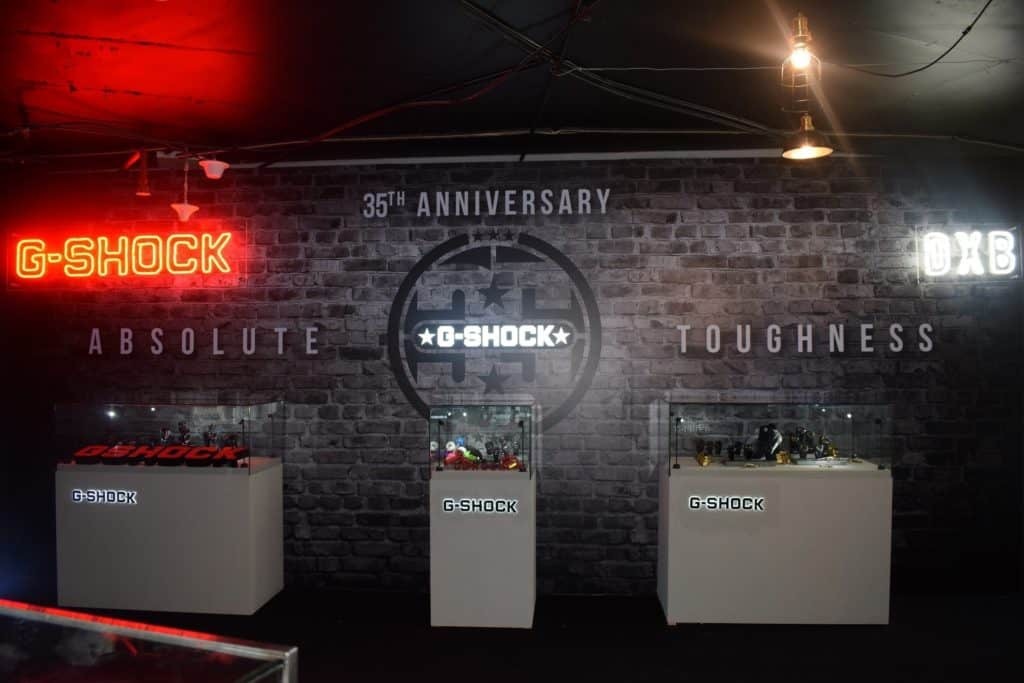 Image 1 1024x683 - CASIO kicks off with G-SHOCK's  35th Anniversary MENA Tour in UAE.