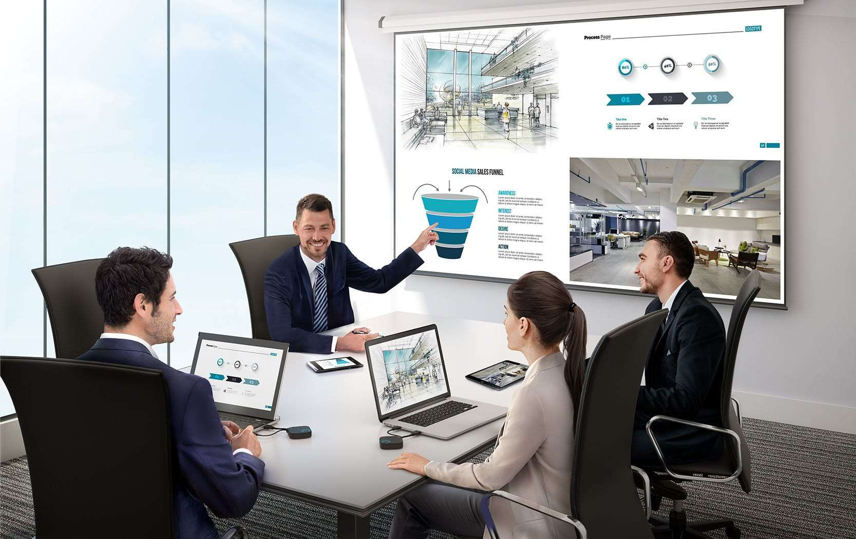 BenQ Wireless Presentation Solution Enables Plug-and-Play Collaboration for Mobile Devices and Interactive Displays