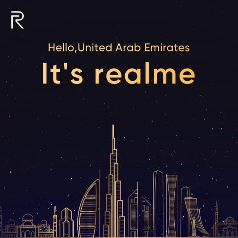 RealMe set to enter UAE with Dare-To-Leap Product
