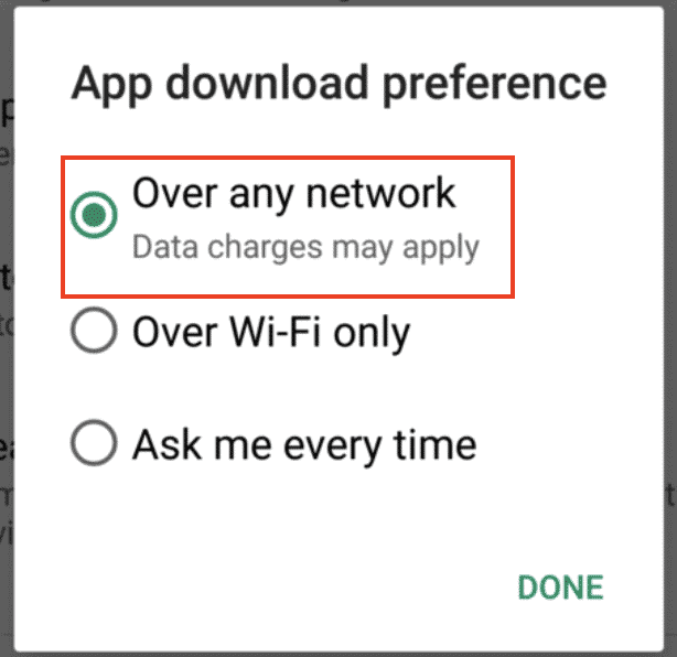 How to fix the 'Download Pending' error on Google Play Store