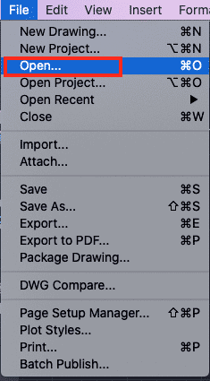 How to convert a DWG file to PDF