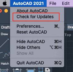 Kako ažurirati AutoCAD?