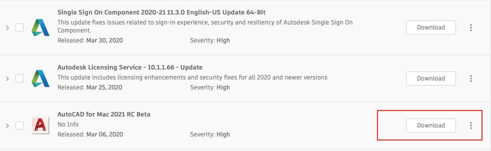 Sådan opdateres AutoCAD?