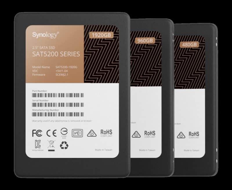 Synology उच्च प्रदर्शन और विश्वसनीयता के लिए SSD लाइनअप का परिचय देता है