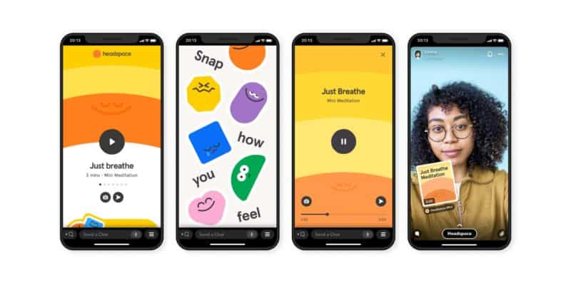 Snapchat Launches In-App Meditation Experience With Headspace