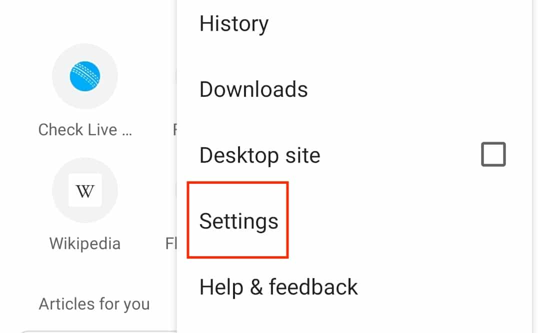 How to set the homepage in Chrome on Android