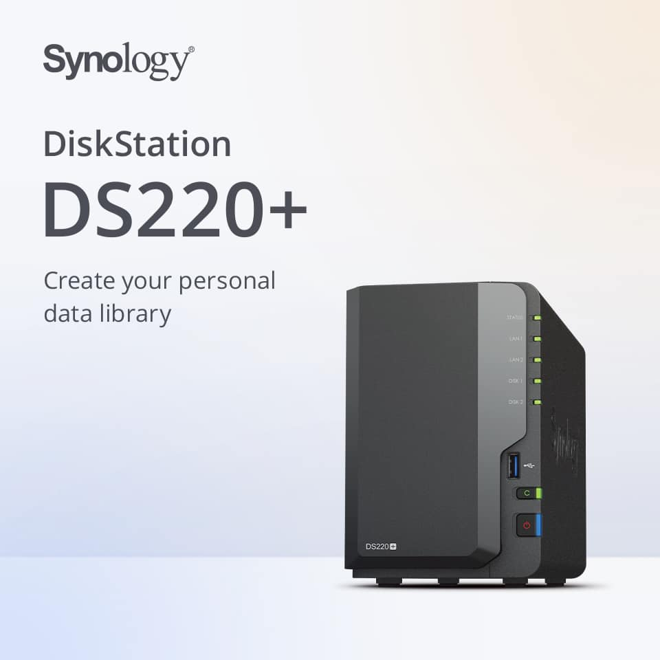 Synology Introduces the DiskStation 20+ Series