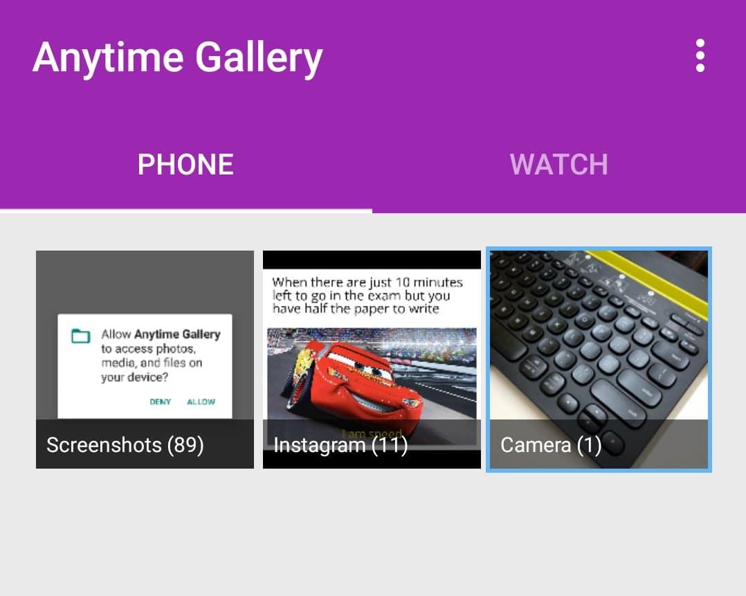 Sådan synkroniseres billeder på Google Wear OS-ure