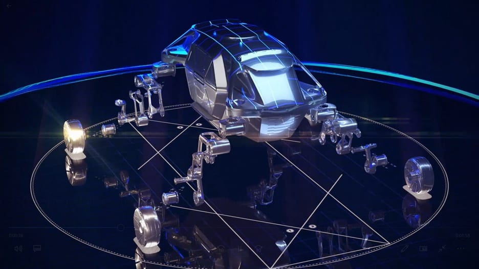 Hyundai And Autodesk Join Forces To Design Futuristic Walking Car