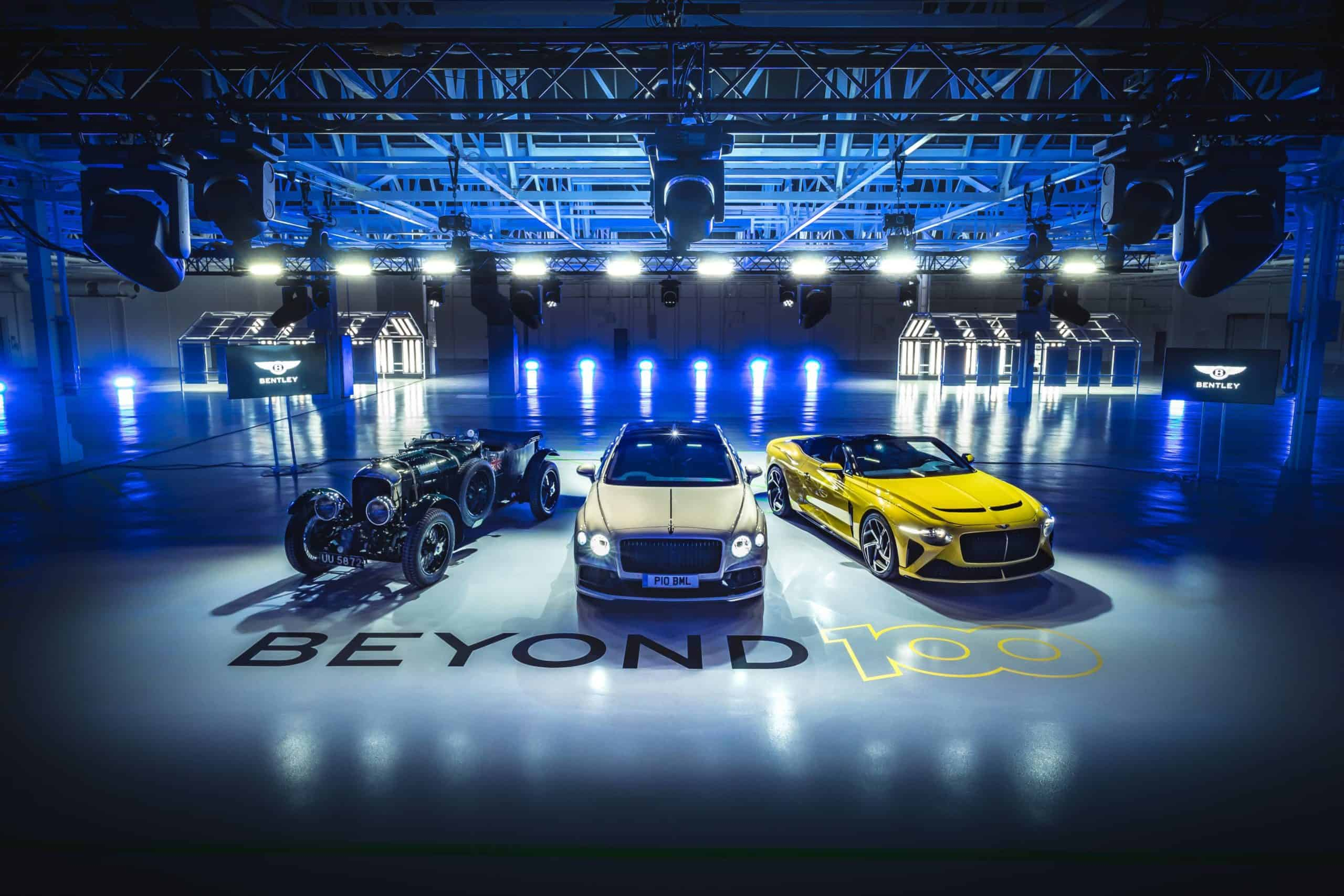 Bentley outlines their Beyond 100 strategy