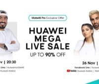 HUAWEI MEGA LIVE SALE set to announce massive offers along with HUAWEI Mate 40 Pro pre-orders