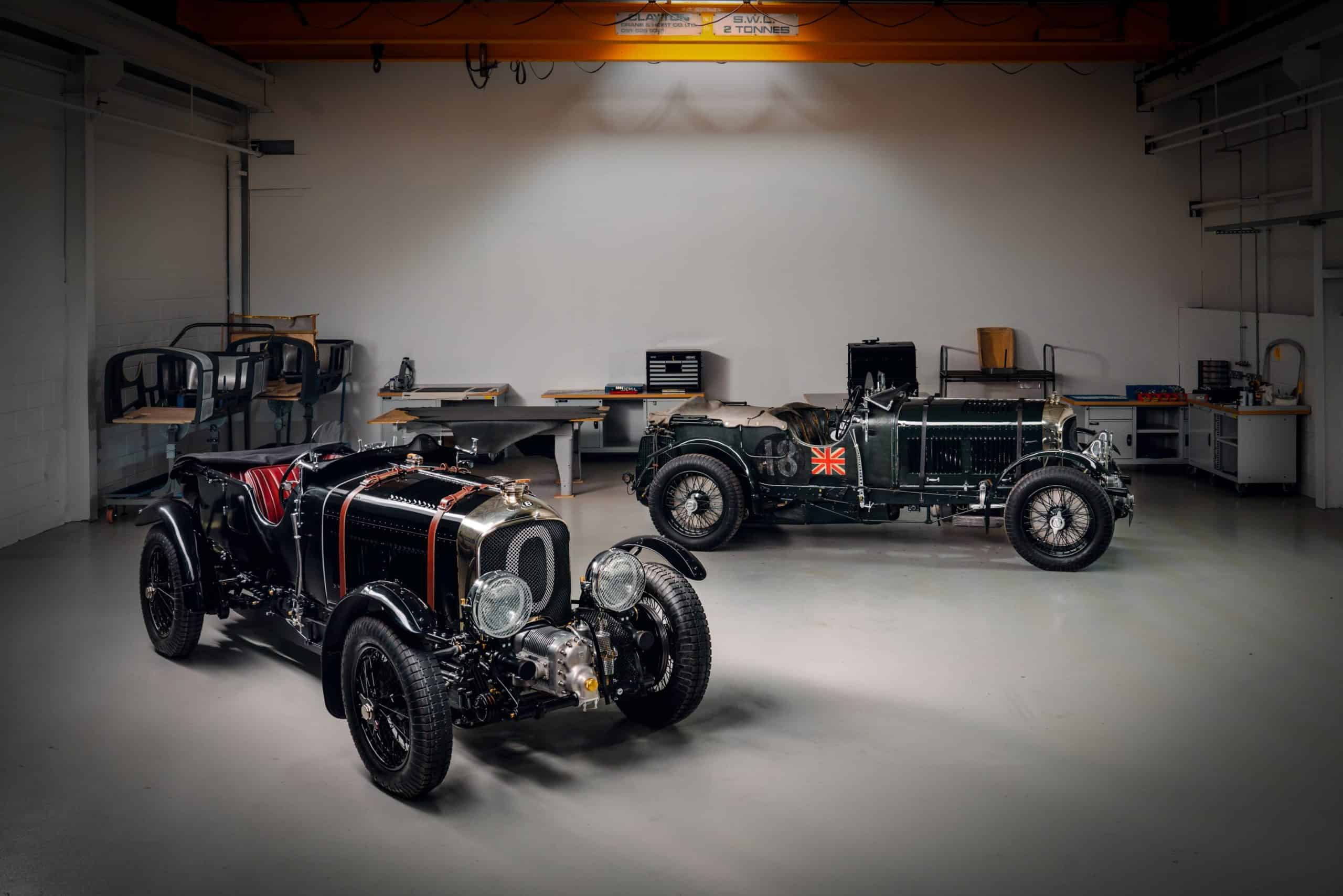 Bentley Mulliner fuldender den første prototype til Blower Continuation Series