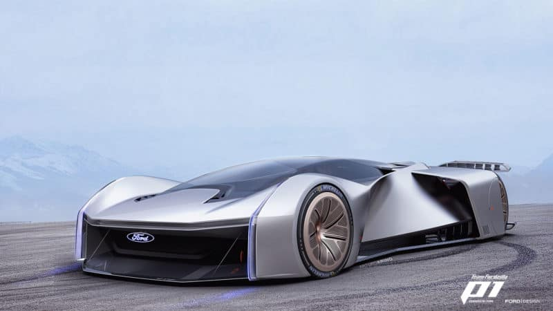 The Ford P1 Supercar Becomes A Reality