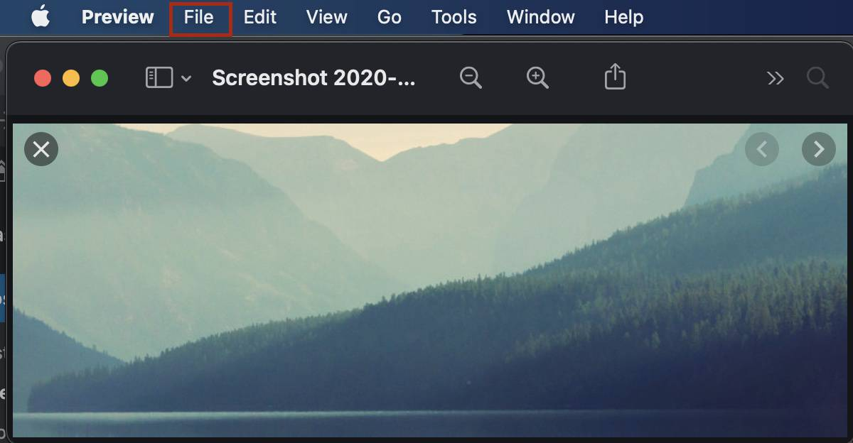 Sådan gemmes billeder på en Mac