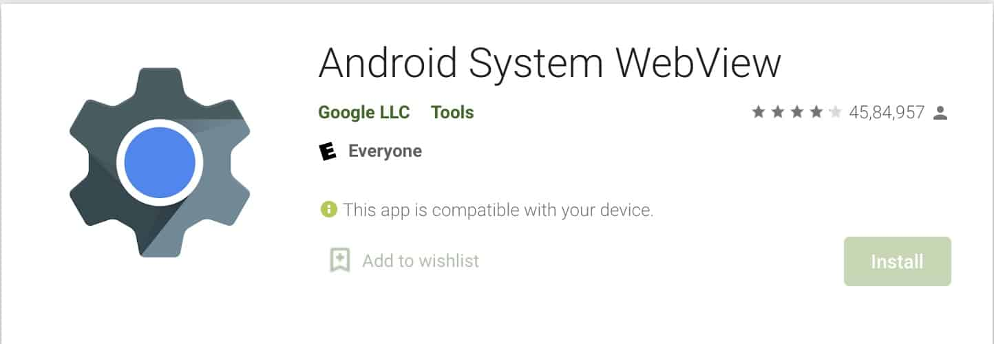 Was ist das Android-System WebView?