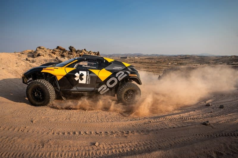 Continental Test Driver Mikaela Ahlin-Kottulinsky Joins New Extreme E Racing Series