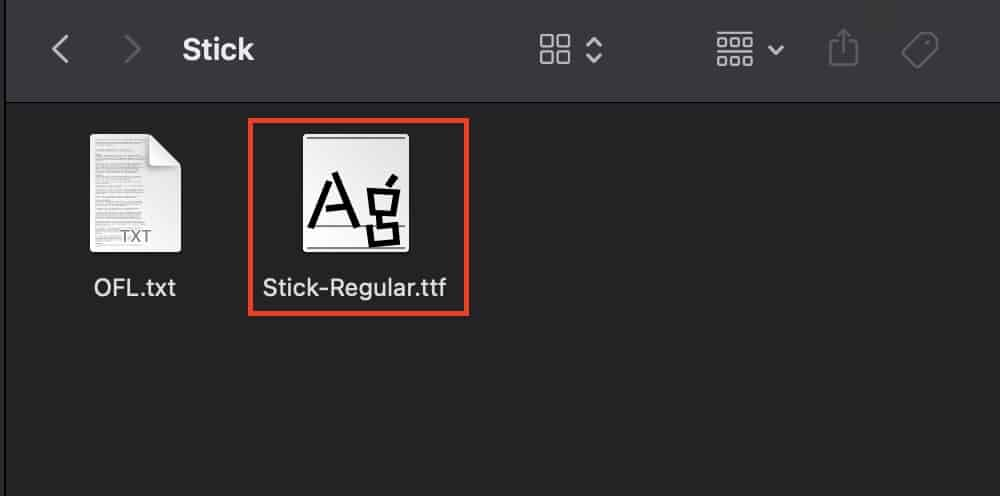 How to add fonts on the Mac