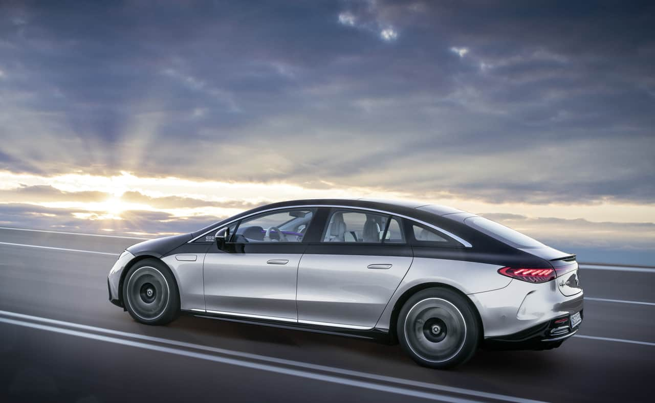 Mercedes-Benz unveils the EQS: the first electric vehicle in the luxury class