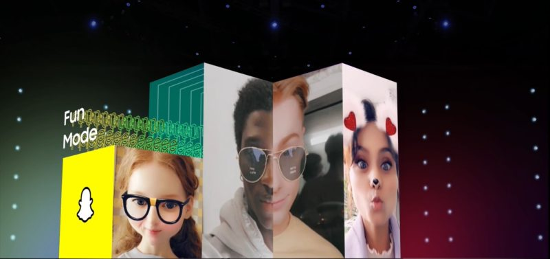 Samsung partners with Snap to bring 'Fun Mode' to life on Galaxy A series
