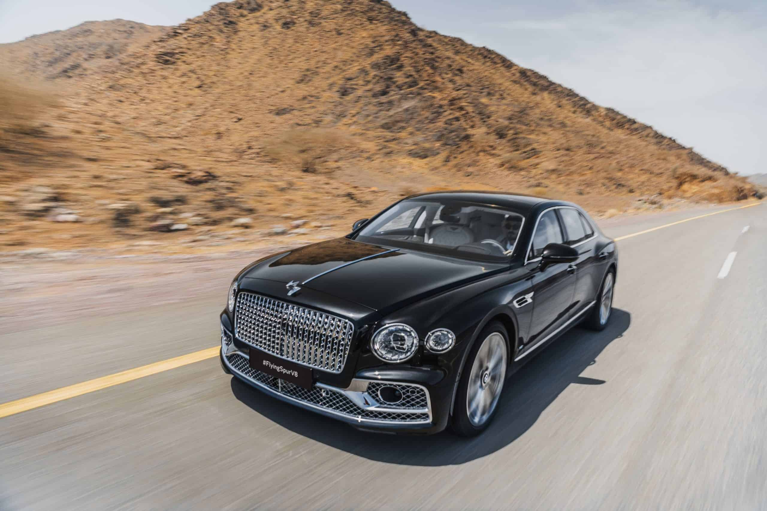 Flying Spur Ready to Soar With V8 Power Across the Middle East