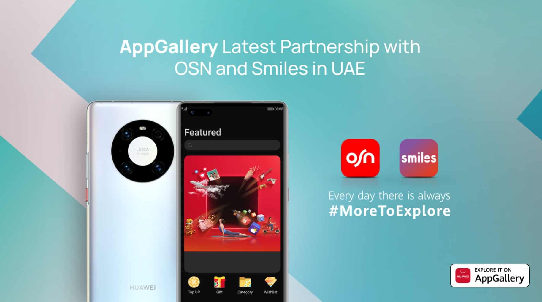 AppGallery launches a co-branded campaign with OSN and Smiles among UAE users