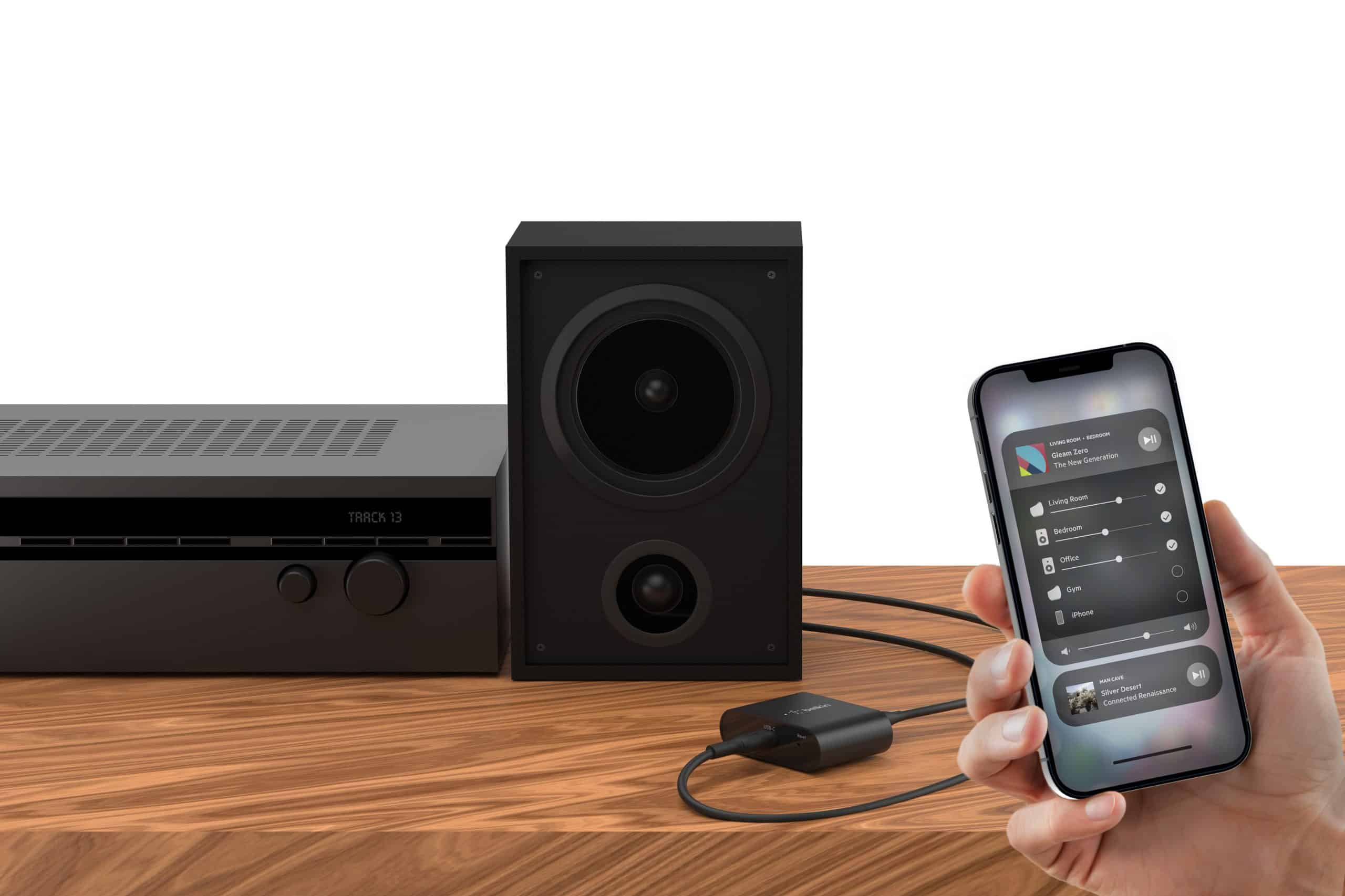 Belkin Dives Deeper into Audio with the Launch of the SOUNDFORM Connect Audio Adapter with Apple AirPlay 2