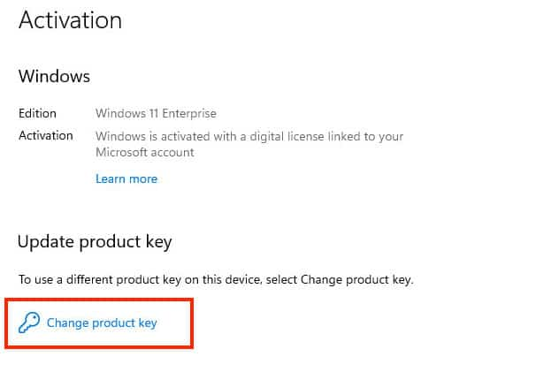 How to activate Windows 11