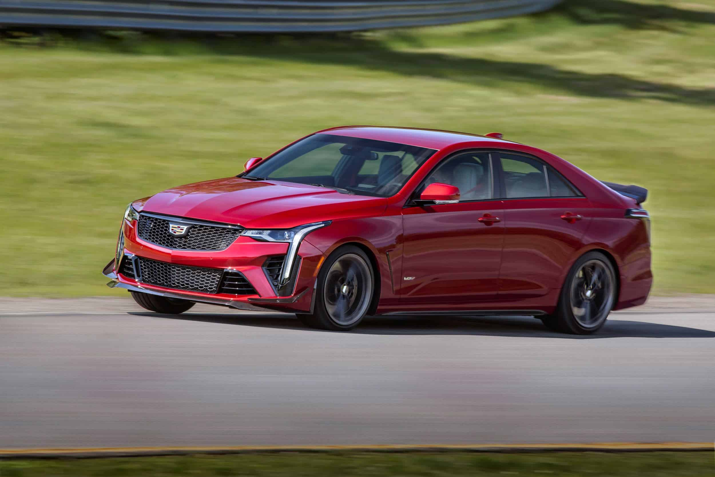 2022 Cadillac CT4-V Blackwing Delivers Highest Downforce in V-Series History
