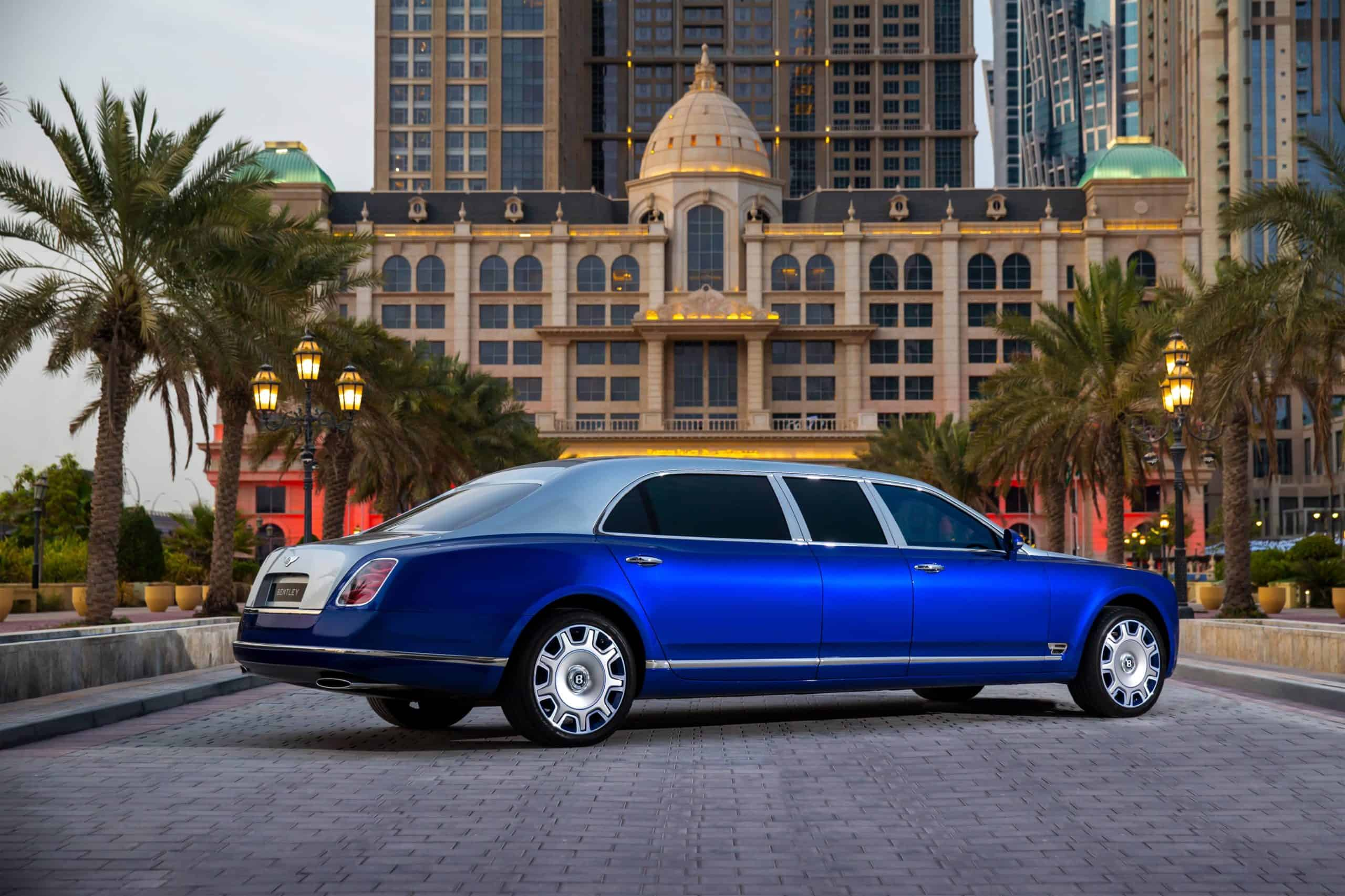 Here's your chance to own the ultimate luxury four door, the Mulsanne Grand Limousine by Mulliner