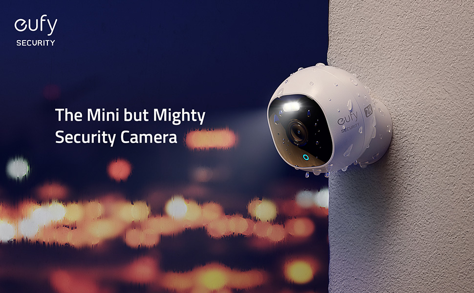 Eufy debuts Outdoor Cam Pro C24 with spotlight illumination on motion detection and Colour Night vision at night.